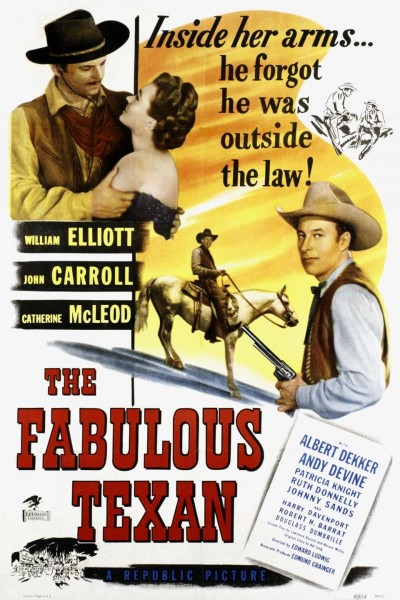 Caratula, cartel, poster o portada de The Fabulous Texan