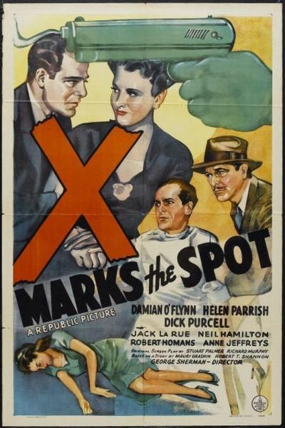 Caratula, cartel, poster o portada de X Marks the Spot