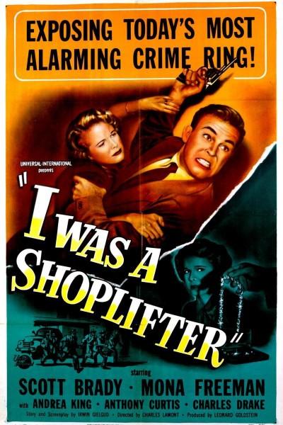 Caratula, cartel, poster o portada de I Was a Shoplifter