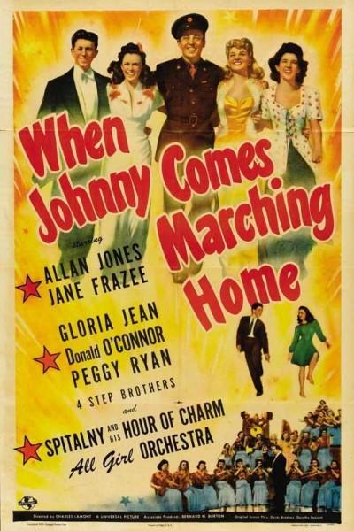 Caratula, cartel, poster o portada de When Johnny Comes Marching Home