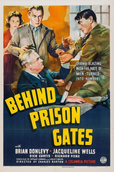Caratula, cartel, poster o portada de Behind Prison Gates