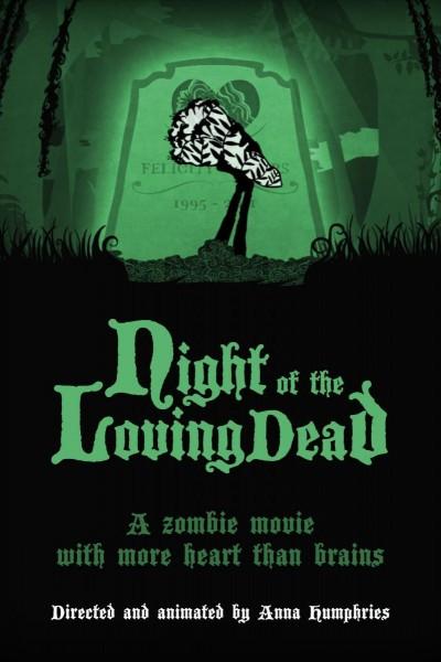 Caratula, cartel, poster o portada de La noche de los muertos enamorados
