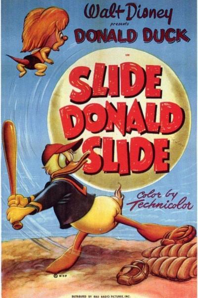 Caratula, cartel, poster o portada de Corre, Donald, corre