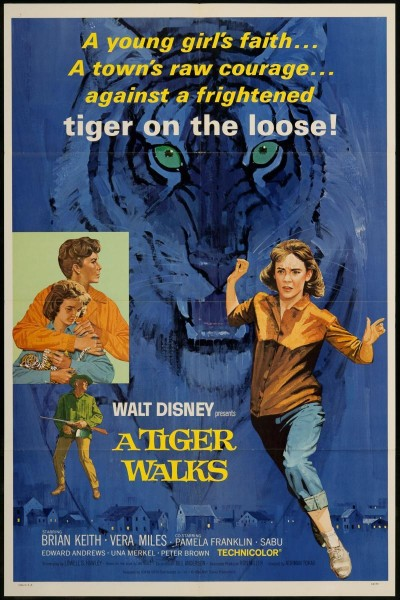 Caratula, cartel, poster o portada de Un tigre se escapa