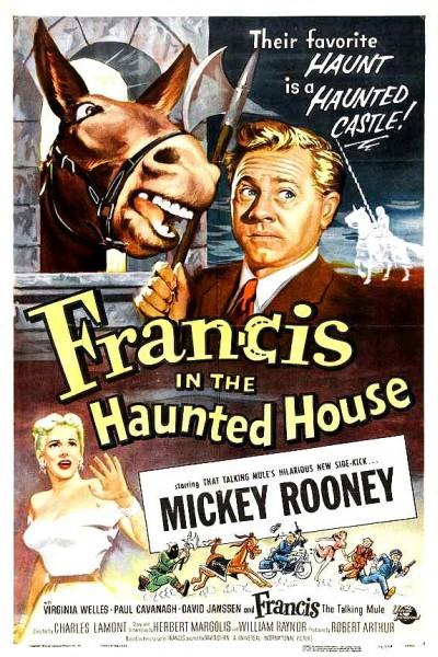 Caratula, cartel, poster o portada de Francis in the Haunted House
