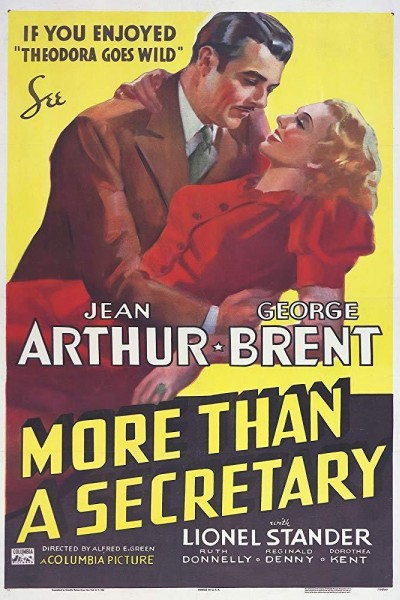 Caratula, cartel, poster o portada de Escuela de secretarias
