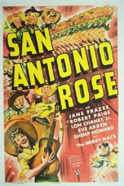 Caratula, cartel, poster o portada de San Antonio Rose