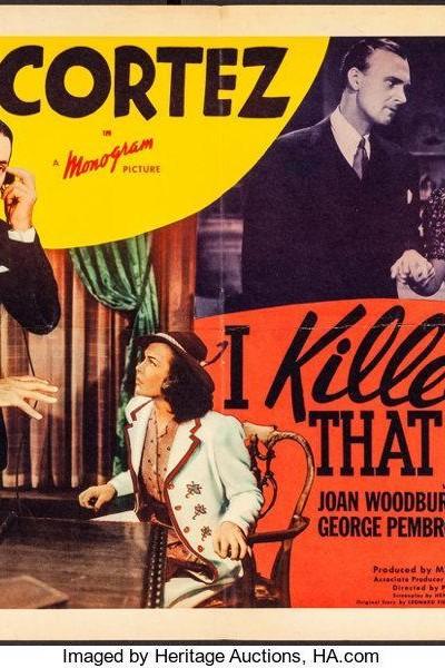 Caratula, cartel, poster o portada de I Killed That Man