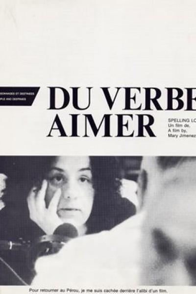 Caratula, cartel, poster o portada de Del verbo amar