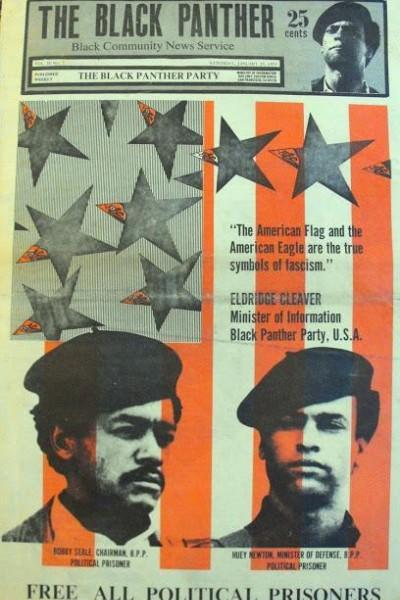 Caratula, cartel, poster o portada de Eldridge Cleaver, Black Panther