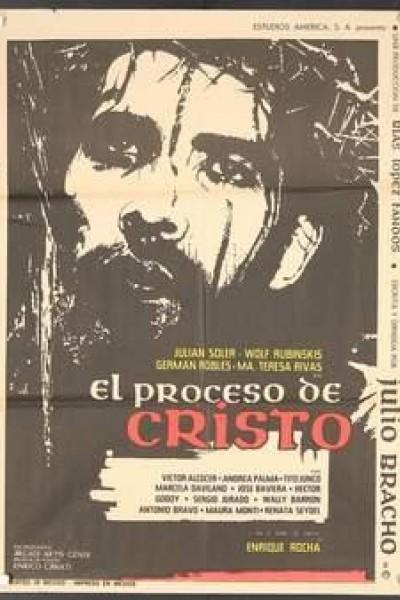 Caratula, cartel, poster o portada de El proceso de Cristo