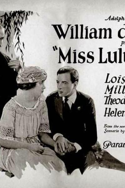 Caratula, cartel, poster o portada de Miss Lulu Bett