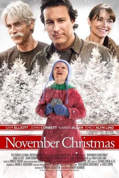 Caratula, cartel, poster o portada de Navidad en noviembre