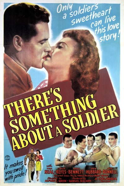 Caratula, cartel, poster o portada de There\'s Something About a Soldier