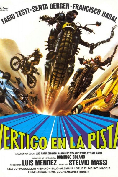 Caratula, cartel, poster o portada de Vértigo en la pista