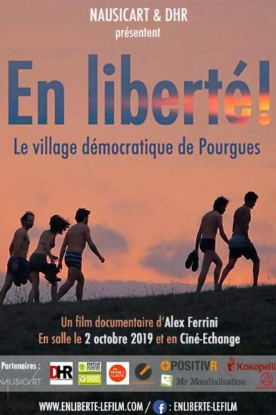 Caratula, cartel, poster o portada de En liberté! le village démocratique de Pourgues