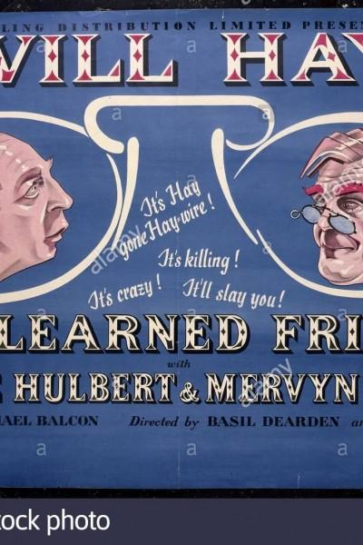Caratula, cartel, poster o portada de My Learned Friend