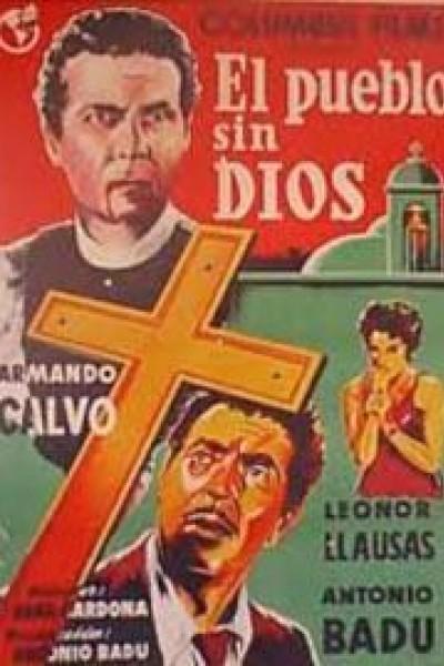 Caratula, cartel, poster o portada de El pueblo sin Dios