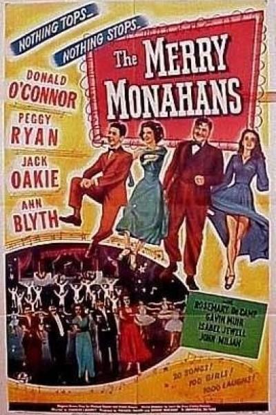 Caratula, cartel, poster o portada de The Merry Monahans