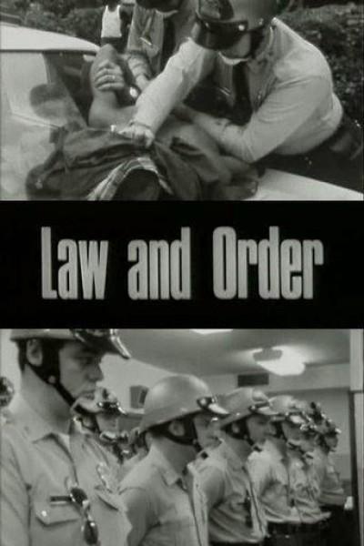 Caratula, cartel, poster o portada de Ley y Orden