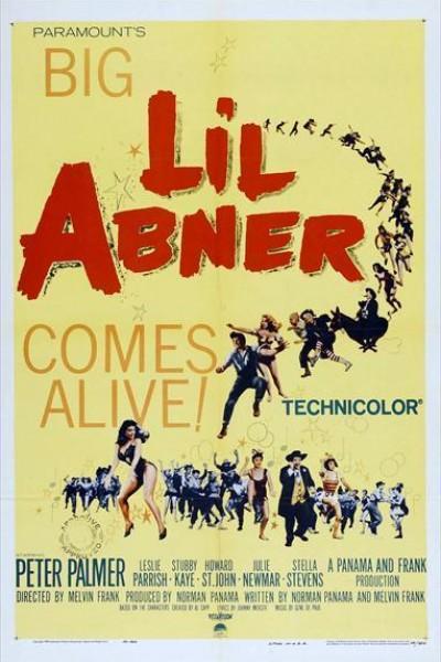 Caratula, cartel, poster o portada de Li\'l Abner