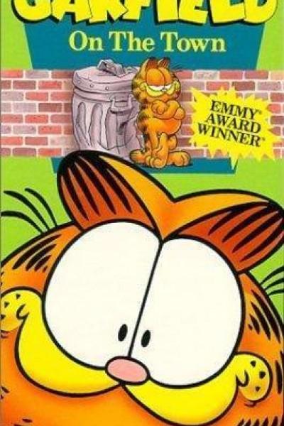 Caratula, cartel, poster o portada de Garfield en la ciudad
