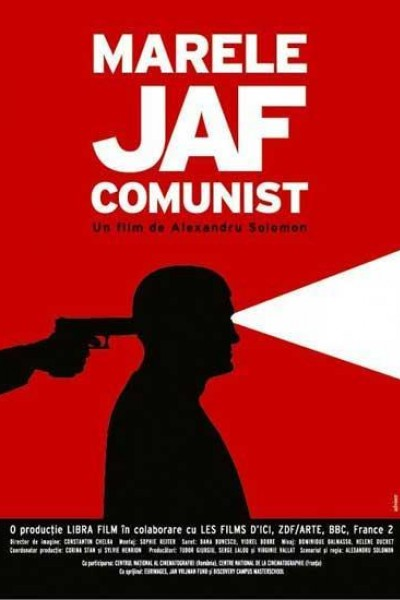 Caratula, cartel, poster o portada de El gran robo del banco comunista