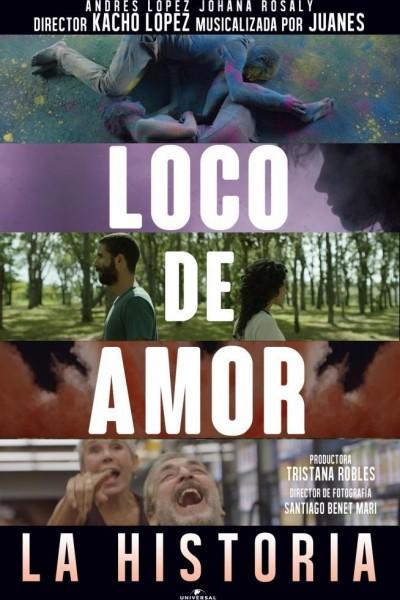 Caratula, cartel, poster o portada de Juanes: Loco de amor (La historia)
