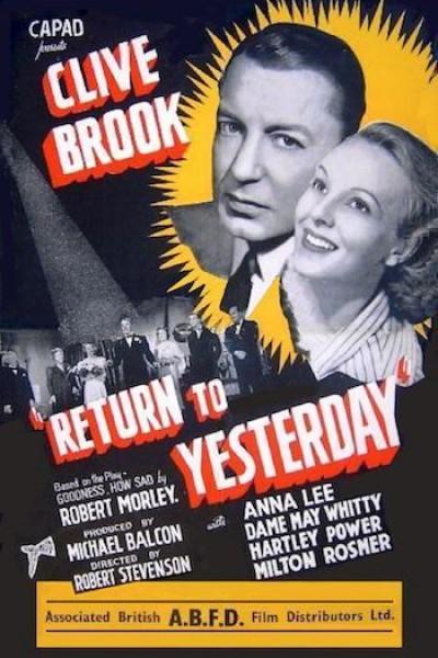 Caratula, cartel, poster o portada de Return to Yesterday
