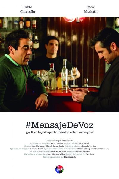Caratula, cartel, poster o portada de #Mensajedevoz