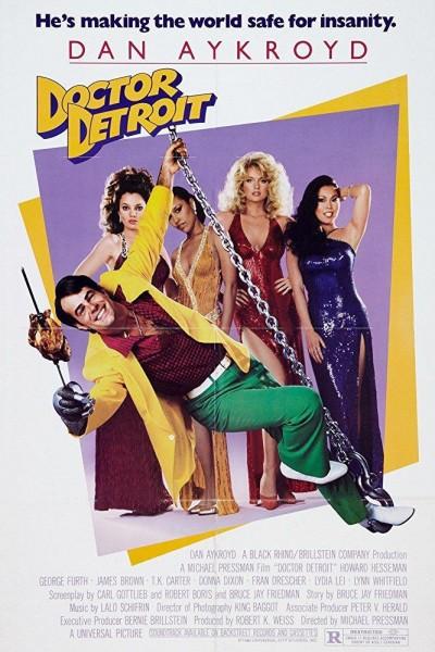 Caratula, cartel, poster o portada de Doctor Detroit