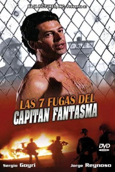Caratula, cartel, poster o portada de Las 7 fugas del capitán fantasma