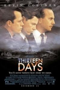 Caratula, cartel, poster o portada de Trece días (13 días)