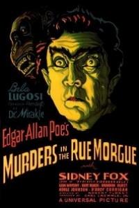 Caratula, cartel, poster o portada de El doble asesinato en la calle Morgue