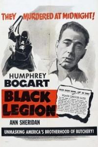 Caratula, cartel, poster o portada de La legión negra