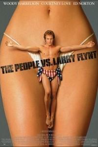 Caratula, cartel, poster o portada de El escándalo de Larry Flynt