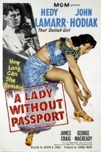 Caratula, cartel, poster o portada de Mujer sin pasaporte