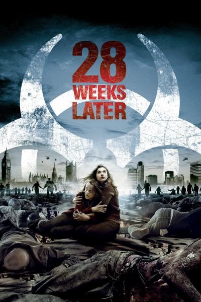 Caratula, cartel, poster o portada de 28 semanas después