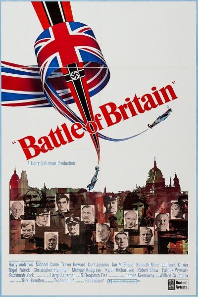 Caratula, cartel, poster o portada de La batalla de Inglaterra
