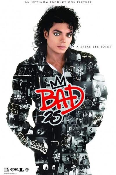 Caratula, cartel, poster o portada de Bad 25