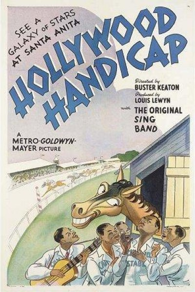 Caratula, cartel, poster o portada de Hollywood Handicap