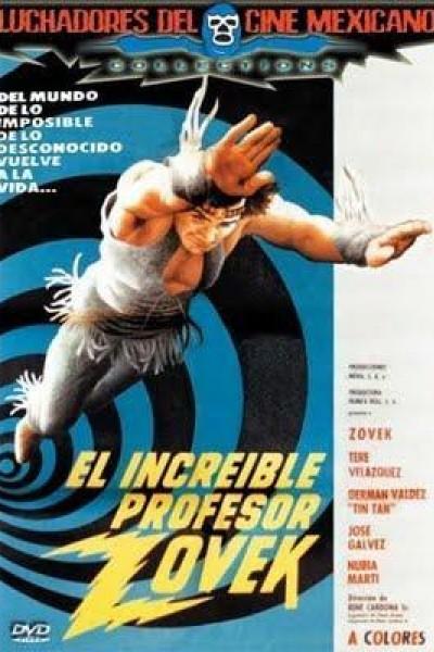 Caratula, cartel, poster o portada de El increíble profesor Zovek