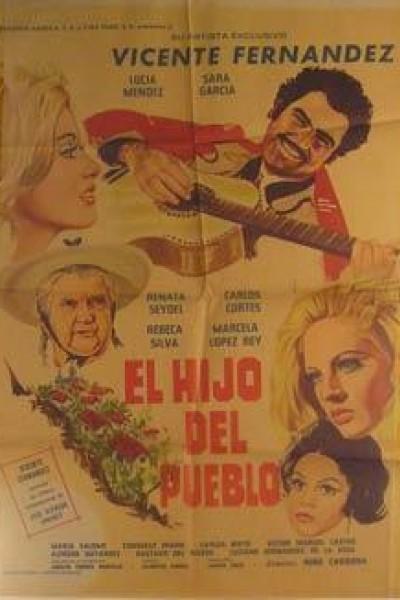 Caratula, cartel, poster o portada de El hijo del pueblo