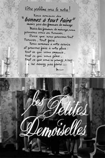 Caratula, cartel, poster o portada de Les petites demoiselles