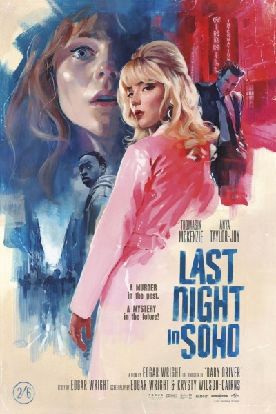 Caratula, cartel, poster o portada de Last Night in Soho