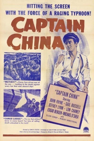 Caratula, cartel, poster o portada de Capitán China