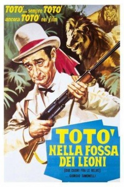 Caratula, cartel, poster o portada de Due cuori fra le belve