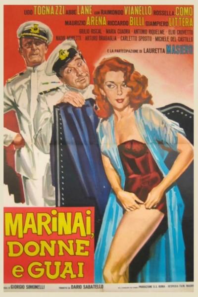 Caratula, cartel, poster o portada de Marineros, ¡no miréis a las chicas!