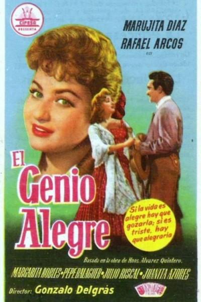 Caratula, cartel, poster o portada de El genio alegre