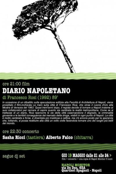 Caratula, cartel, poster o portada de Diario napoletano